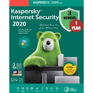 Kaspersky Internet Security 2020 3-Users