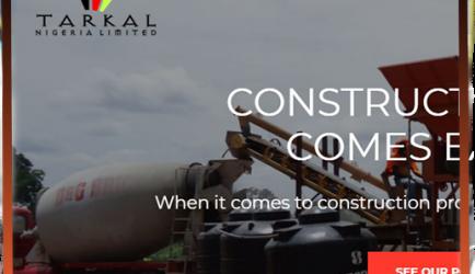 TARKAL NIGERIA LIMITED- web design and development